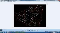 2014最新cad教程CAD三维建模实例(十四)