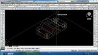 2014最新cad教程CAD三维建模实例(八)