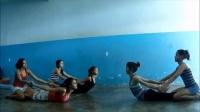 2º parte do treino de coluna com as contortion