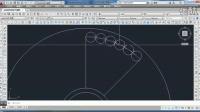 CAD平面绘图示范(八七)