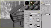 101.3ds Max2012(2013)建模教程:用vraymtl材质制作钢琴烤漆材质