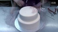 创意翻糖蛋糕 简单漂亮的三层婚礼蛋糕制作教程