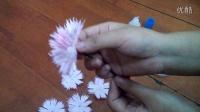 手揉纸康乃馨制作