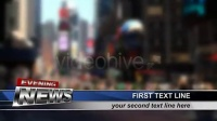 2624[素材TV] 10秒倒计时电视新闻包装高清AE模板