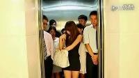 电梯载人超重时该怎么办(搞笑)