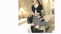 2014女秋装新款韩版羊绒衫短款上衣针织开衫女宽松大码薄毛衣外套