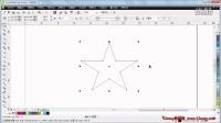 CorelDRAW基础教程1_CDR X6中文版标准教程_5.1 添加和删除节点