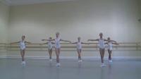 瓦岗诺娃芭蕾舞学校一年级 古典芭蕾课考试 2012