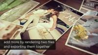 2678[素材TV] 婚礼照片幻灯片高清AE模板
