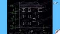 三层别墅施工设计图纸 农村建房样式图