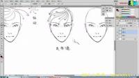 第一章:头发的画法与发型设计版(1)