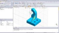 midas NFX_基于CAD的建模_跟随操作例题