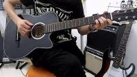 红棉吉他弹唱《姑娘》 红棉吉它 现场演示 高清_标清