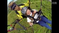 台灣采盟免稅店同事宜蘭外澳雙人飛行傘體驗飛行