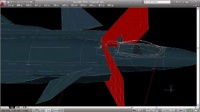 CAD建模:中国歼-20隐形战斗机