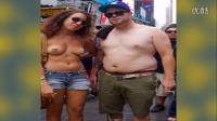 裸胸节女人赤膊男人罩胸呼吁两性平等