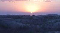 乌兰布和沙漠落日