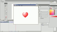 flash教程实例运动补间动画的制作02