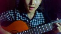 哈萨克女生-Falling slowly 吉他弹唱