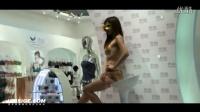 [黑丝阁]2014北京国际顶级内衣展长腿比拼