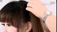 14【美容盘发视频教程】双侧高马尾辫