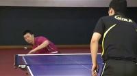 马龙乒乓球教学 第4集抢拉半出台