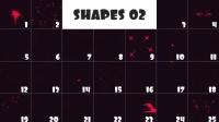 100组二维特效动态元素包AE模板VH Animation Pack 2