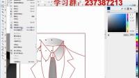 CorelDRAW UI篇-服饰UI图标设计