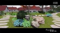 隽庭出品,花园景观设计