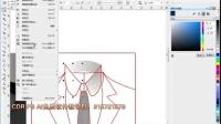 CorelDRAW X6教程 CDR入门到精通全套教程 CDRUI设计教程 户外广告设计 CDR服饰设计教程 UI图标设计