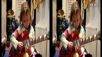 美国7岁小女孩电吉他弹奏枪炮与玫瑰乐队《Sweet Child O Mine》_高清