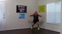 【豹哥健美】12分钟无器械腿部肌肉训练,练炸你的腿!