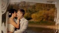 爱情记录书籍婚礼相册动画AE模板_383