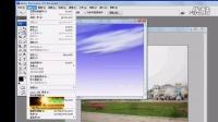 PS实例02——为图片添加蓝天白云【视频教程】