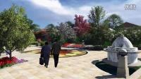 别墅景观设计动画方案 lumion