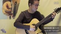 南泽大介 - 指弹教程 -  練習曲第1番/左手