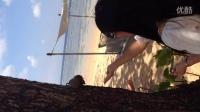 2014.09.07 巴厘岛努沙杜瓦酒店私人海滩喂松鼠