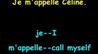 台湾céline老师法语教学 第一课 基本问候
