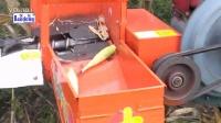 新产品上市小型单行玉米收割机手扶带玉米收割机一八四3一一九三三6一