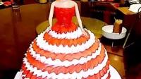 亲爱滴瑜宝贝 送你最爱的芭比蛋糕  爱你❤