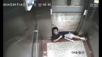 厦门华侨大学电梯事故监控录像 学生被卡窒息惨死