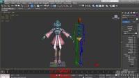 第一课 骨骼架设定-3Dmax新手入门基础视频教程