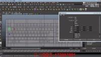 maya多边形建模   键盘2-玛雅新手入门基础视频教程案例