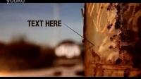 A0528  创意城市复古风秀文字字幕宣传影视片头AE模板