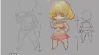 ◇素酷◆SUCOOL-木木-Q版游戏原画人物绘制