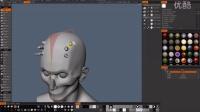 怎样在3D Coat中使用 'symmetry copy' (对称复制)工具