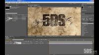 AE墙面爆破文字案例动画视频讲解教程①_标清