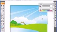 [Ai]Adobe Illustrator教学视频-绘制春天风景插画