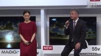 綾瀬はるか、東京五輪へカウントダウン! 「VIERA」新製品発表会
