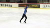 ISU 2014 Jr Grand Prix Tallinn Men SP 张鹤 He ZHANG CHN